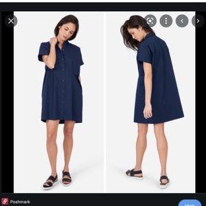 Everlane Short Sleeve Minidress
